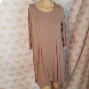 3/$24💟UMGEE Scoopneck 3/4 Slv Swing Dress